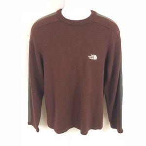 The North Face men's medium sweater brown